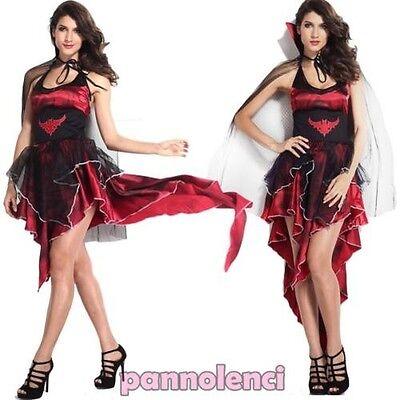 Kostüm Karnevalkleid Donna Regina Vampira Kleid Verkleidung Dl-1605