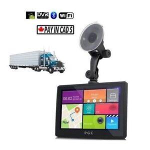 "7"" PGC Transport TRUCK GPS + Dash Cam DVR++ (Signature Series)"