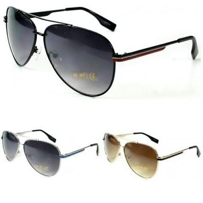 Neu Herren Jungen Damen Designer Retro Metall-Sonnenbrillen