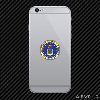 Department of the Air Force Seal Cell Phone Sticker Mobile Die Cut usaf united