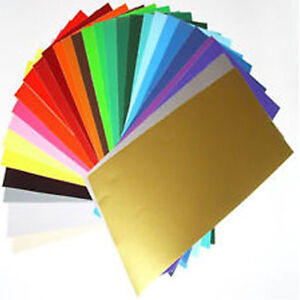 20 x a4 sheets matt self adhesive vinyl any colour sign for Vinyl sheets for crafts