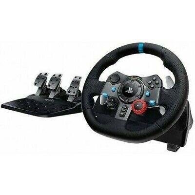 Logitech G29 Volante En Cuero Con Pedales Para Consola PS3 Y PS4...