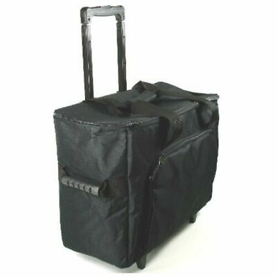 Sewing & Embroidery Machine Case Trolley Black NEW