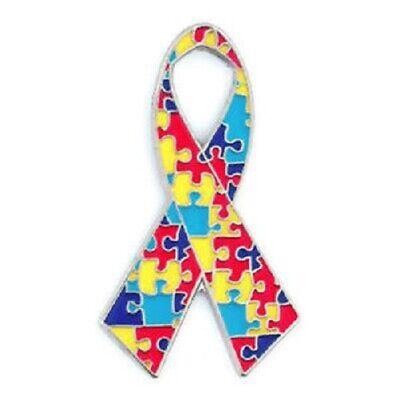 - Autism Ribbon Lapel Hat Pin Autism Awareness Tie Tac FAST USA SHIPPING