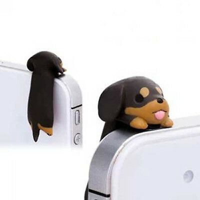 1Stk. Cartoon Hund Staubschutz Stöpsel Staubstecker Handyschmuck Smartphone  ()