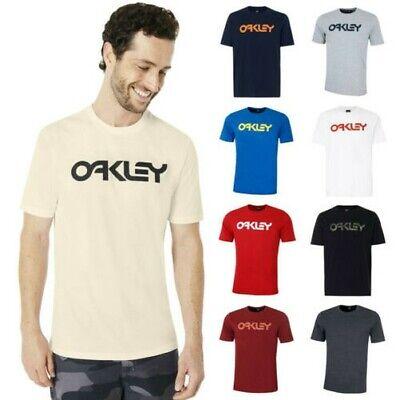 Oakley Herren Mark II Rundhals Regular Fit Leichtes T-Shirt 25%OFF