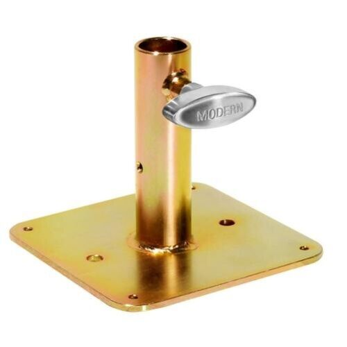 "NEW Modern Studio 006-1628 Junior Receiver Nail on Plate Gold Zinc, 6"""
