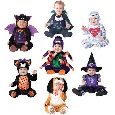Mini Baby Kinder Kostüm Gespenstisch Tier Kleinkinder Halloween Kostüm
