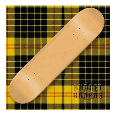 Blank SKATEBOARD DECK   -  8.5 in - NATURAL w/Jessup