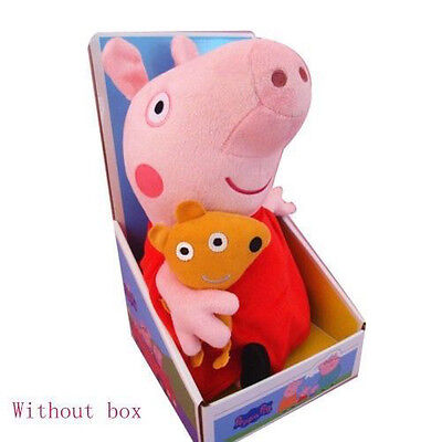 New Peppa Pig Stuffed Soft Figures Toy Plush Doll 19Cm 7 5Inch Kids Lovely Gift