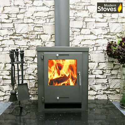 Cube 9kw  Wood Burning Multi fuel ,Wood Burner - Modern Stoves