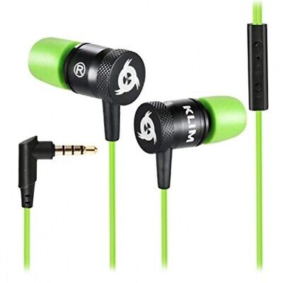Klim Fusion High Quality Audio In-Ear Headphones with Memory Foam