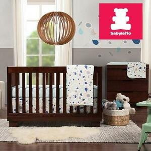 NEW BABYLETTO CONVERTIBLE CRIB M6701Q 136705746 ESPRESSO BABY INFANT NURSERY