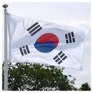 NEW 3X5FT SOUTH KOREA KOREAN GARDEN FLAG BANNER FLAGS