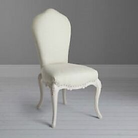 John lewis, Rose mist collection dressing table chair BNIB