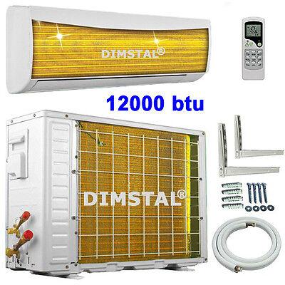Golden Fin 12000 btu 3,5kW A++ Split Inverter Klimaanlage Klimagerät/Heizung