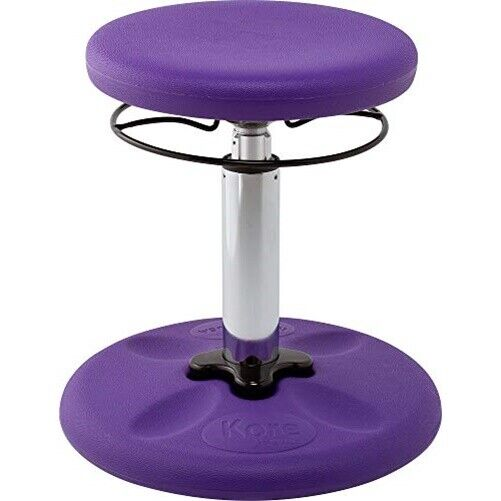 Kore Kids Adjustable Standard Wobble Chair 14-19 Purple