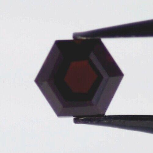 RED GARNET 9 MM HEXAGON CUT ALL NATURAL F-537