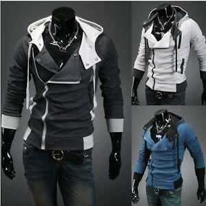 HOT-NEW-Mens-Slim-Fit-Sexy-Top-Designed-Hoodies-Jackets-Coats-3-color-KF7531