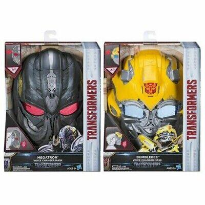 Neu Transformers Letzte Ritter Biene oder Megatron Voice Changer Maske Offiziell