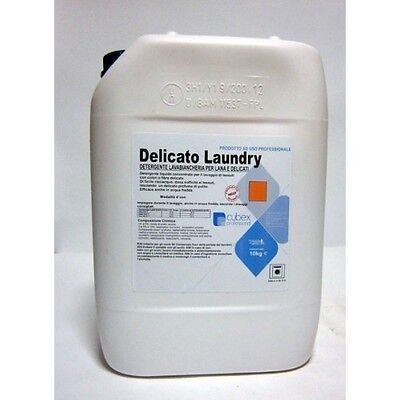 Detergente detersivo lavabiancheria per lana e delicati DELICATO LAUNDRY 10KG