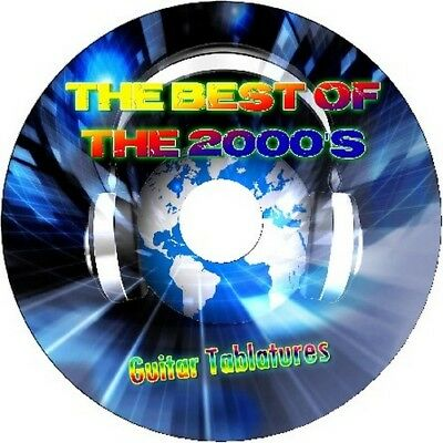 00s 2000s GUITAR TAB CD TABLATURE SONG BOOK GREATEST HITS BEST OF