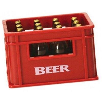 Rot Flaschenöffner (Bierkasten Flaschenöffner Flaschen-Öffner Bieröffner mit Magnet Kapselheber Rot)