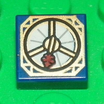 LEGO - Minifig Utensil, Captain Jack Sparrow's Compass - Dark Blue, used for sale  Sauk Rapids
