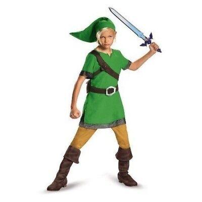Disguise Legende von Zelda Link Klassisch Kinder Jungen Halloween Kostüm - Zelda Kostüm Kinder