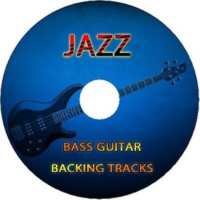 JAZZ BASS GUITAR BACKING TRACKS CD JAM PLAY ALONG MUSIC BEST OF IN THE