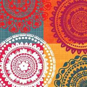 20 Paper Napkins Ethnic Theme Decoration Decoupage Pattern
