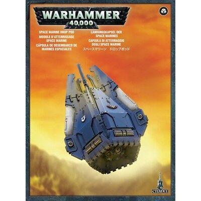 Warhammer 40k Space Marine Drop Pod Brand New