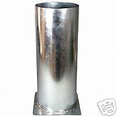 Galvanized Steel DIPPING VAT 6 inches for DIPPING Candles