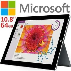 "NEW MICROSOFT SURFACE 3 64GB - 118819369 - 10.8"" DISPLAY TABLETS"