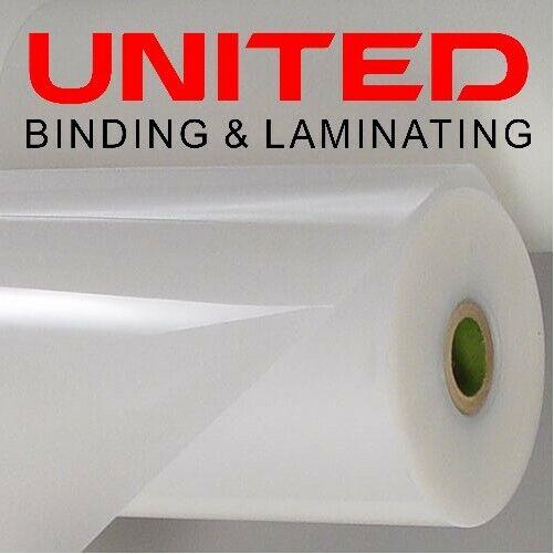 """3 Mil Clear Gloss Standard Roll Laminating Film 12"""" x 250"""