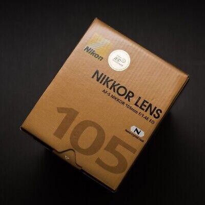 Nikon AF-S NIKKOR 105mm F1.4E ED lens Genuine