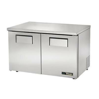 True Tuc-48f-lp-hc 48 Two Section Low Profile Undercounter Freezer