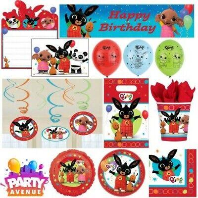 Bing Bunny Kinder Geburtstag Party Geschirr Geschenke Dekoration