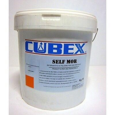 Detergente in polvere per lavaggio manuale di qualsiasi tipo SELF MORE 15 kg