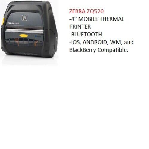 Zebra ZQ520 ZQ52-AUE0000-00 - 90 Day Warranty & Free Shipping