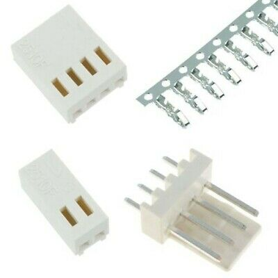 Molex Kk Style 2.54mm Pcb Connector Pin Header Housing - 2 To 5 Way
