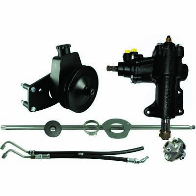 1965 Mustang Power Steering (Borgeson 999020 Power Steering Conversion Kit Fits 1965-1966)