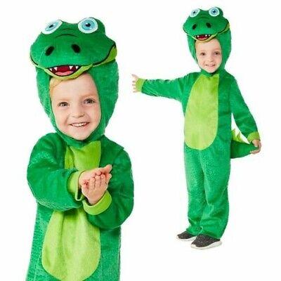 Kleinkinder Krokodil Kostüm Tier Büchertag Overall Party Kostüm Mädchen - Kleinkind Mädchen Tier Kostüm