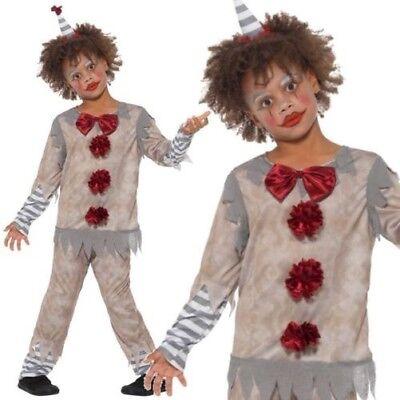 Vintage Clown Junge Kostüm Kinder Zirkusclown Kostüm Ages - Vintage Zirkus Kostüm