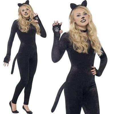 Mädchen Teenager Damen Katze Overall Kostüm Kostüm Katze Anzug von - Teenager Mädchen Katze Kostüm