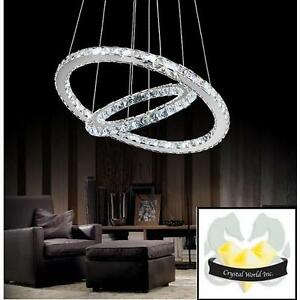 Magnificent Chandelier Online Shopping ca10003 New Ring Led Chrome Chandelier 123257373 Crystal World 4000k Dimmable