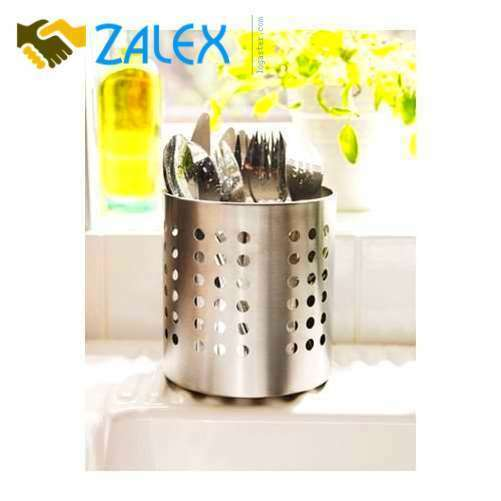 IKEA Cutlery Caddy Utensil Kitchen Holder Organizer Stainless Steel Pack NEW