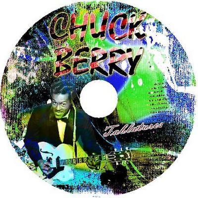 CHUCK BERRY BASS & GUITAR TAB CD TABLATURE GREATEST HITS BEST OF ROCK MUSIC