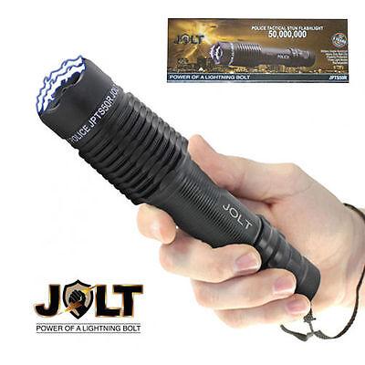 Stun Gun Device Flashlight Combo With Case In Box!!  Cool Tactical Stun Device!
