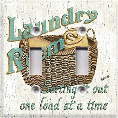Laundry Room #2 Themed Light Switch Plate Cover ~ Choose Your Cover ~